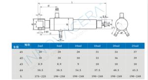 Three-pieces small doses ceramic rotary valve piston metering pump