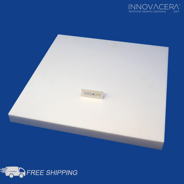 INNOVACERA® Machinable Glass Ceramic Square Plate