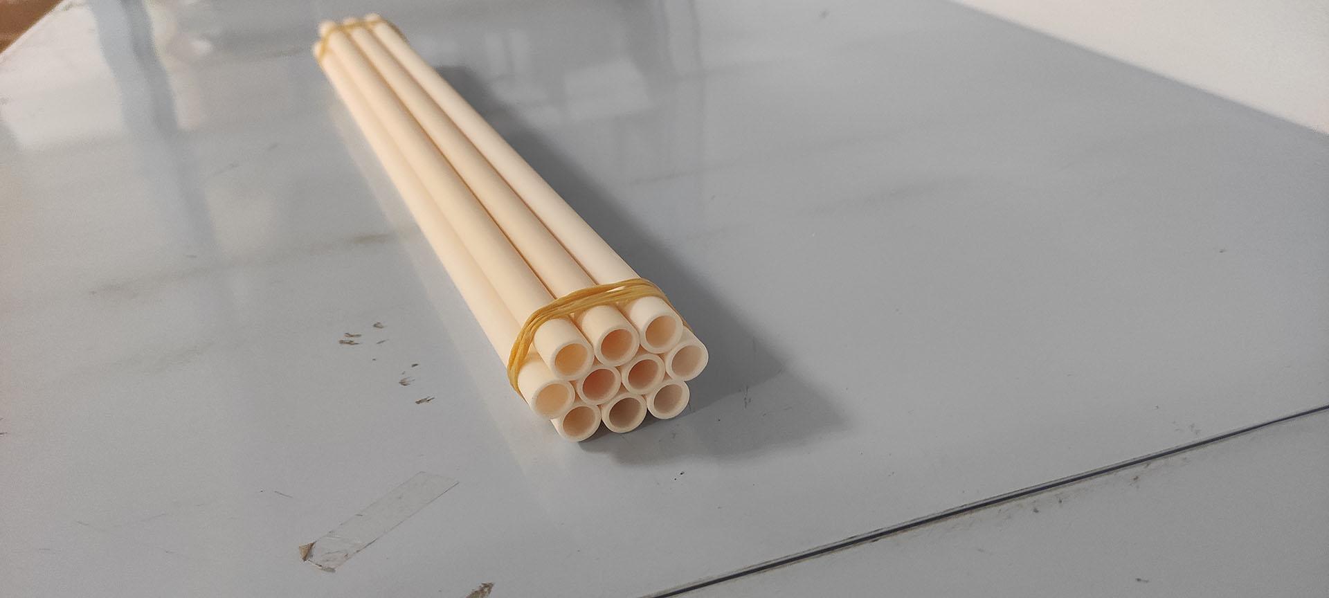 99% Alumina Ceramic Tube 2